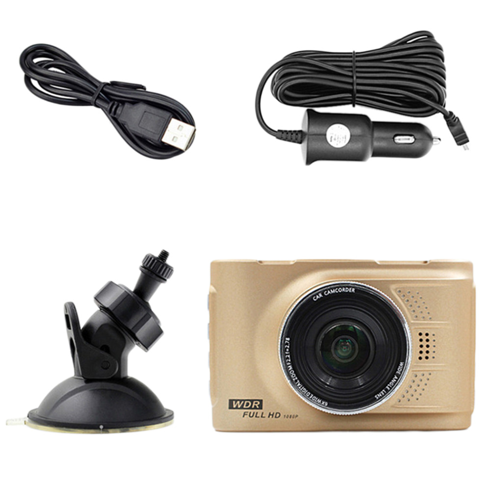 WIFI 2 0 inch A10 170 degree 1080P HD LCD In Car DVR Accident Car Camera