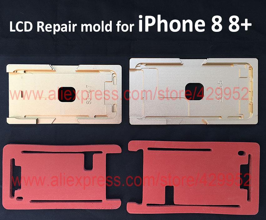 Latest LCD Glass Frame Mold For iPhone 8 8 Plus High Precision Laminating Machine Position Mould Mat LCD Separator Repair Tool high tech and fashion electric product shell plastic mold