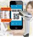 НОВЫЙ USB лазерный Сканер Штрих-Кода Reader поддержка мобильных платежей экране компьютера сканер одномерный код двумерный код