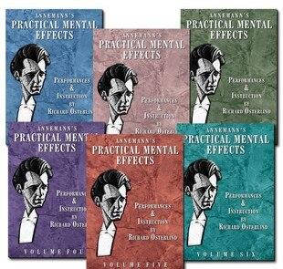Annemann's Practical Mental Effects(1-6) Magic Tricks