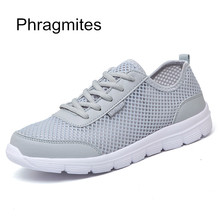 Phragmites Summer Lightweigh Unisex Breathable Mesh Shoes Lace Up Style