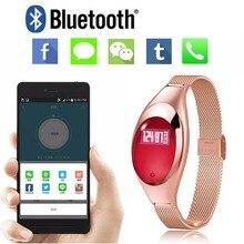 Bluetooth Smart запястье 2 Z18 часы cicret монитор сердечного ритма браслет крови кислородом Давление Для Сяо Ми iPhone Android телефон