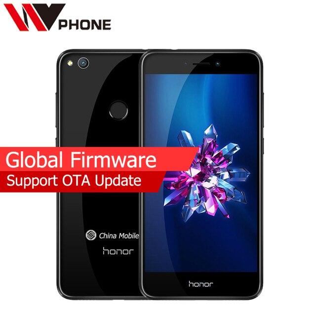 "Оригинальный Huawei Honor 8 Lite 4 г LTE мобильный телефон 4 г оперативной памяти 32 г ROM KIRIN 655 Octa core 5.2 ""FHD 1920*1080 P отпечатков пальцев ID"