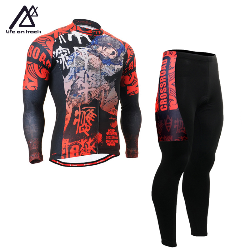 Long Sleeve Bicycle Clothing Meia De Compressao Para Correr Clothes Jersey Rock Cycling Tight Tracksuits Cycling Jerseys For Men rock racing cycling clothing couple jerseys short sleeve high quality paladinsports christmas design