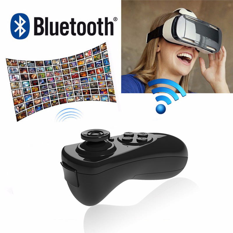 Bluetooth Gamepad VR Controller iOS Android phone Joystick Selfie Shutter Remote Control for Phone PC TV box Smart TV 9