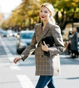 Image 2 - ائيل النساء الشتاء الخريف دعوى سترة عالية الجودة 2017 نعمة معطف الإناث ملابس عصرية