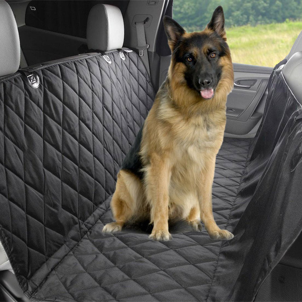 High Quality Hot New Black Washable Waterproof Pet Dog Cat Rear Back Seat Cover Pet car Mats for Car Vehicle Anti-dirty car rear trunk security shield cargo cover for volkswagen vw tiguan 2016 2017 2018 high qualit black beige auto accessories