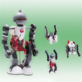 Eléctrica DIY Tumbling Dacing modelo de Robot 3-Mode Robot de montaje juguete creativo para niños de los niños