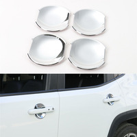Sosung 4PCS Set ABS Exterior Plating Outer Door Handle Bowl Decorative Trim Cover Stickers For Jeep