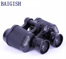 Best price 1PC longming home High Quanlity 8×30 Outdoor Sports Travel Hunting Low Light Russia Binocular Telescope Prism Zoom Lens A1992