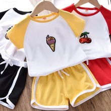 baby boys clothes sets new children clothing sets boys summer kids clothing cartoon dog short sleeve cotton boy clothing suits children clothing sets baby kids boy hoodie pure cotton long sleeve streetwear style clothing printing suits boys sweater black