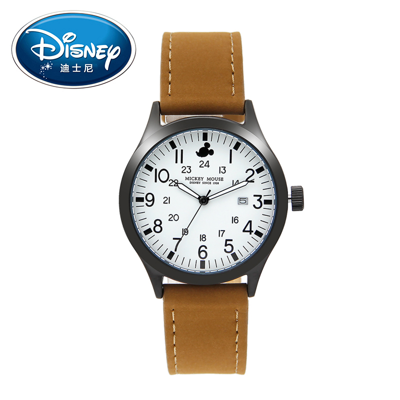 Disney Kids Watches Children Watch Full Luminous Calendar Big Dial Quartz Watch Waterproof Fashion Simple Cool Boys Gift Clock fashion brand children quartz watch waterproof jelly kids watches for boys girls students cute wrist watches 2017 new clock kids