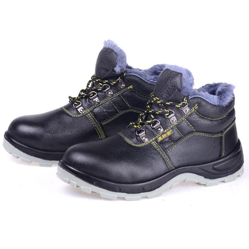 Acier Sécurité Perforation La Hommes En Construction Embout Noir Bottes Plein Preuve slip Anti Chaussures Air Respirant Travail De Au awraqxIE86