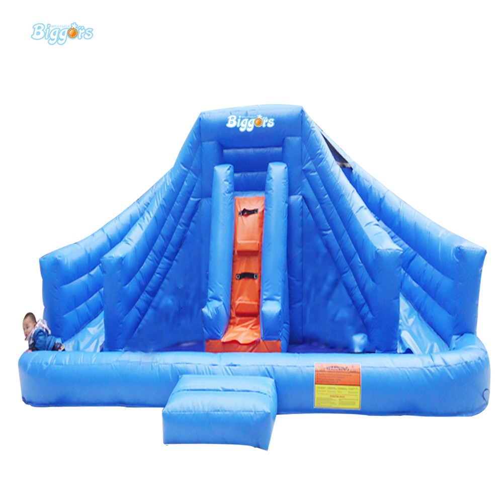 PVC Tarpaulin Inflatable Water Slide Pool Inflatable Water Pool Slide With Blowers popular best quality large inflatable water slide with pool for kids