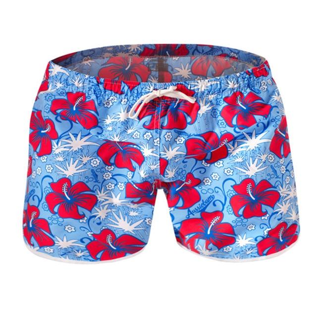 Zwembroek Bloemen Heren.Slips Badmode Mannen Shorts Zwembroek Heren Zwemmen Pak Strand