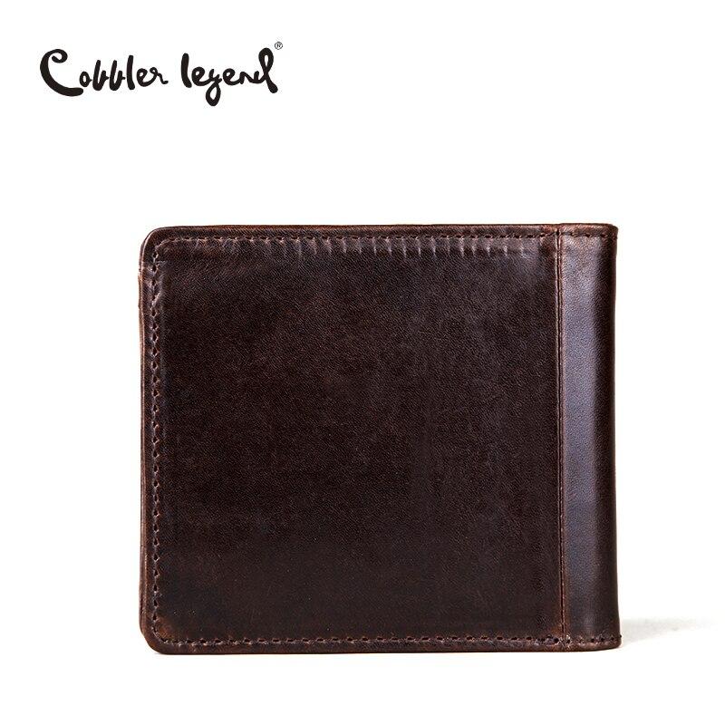 Cobbler Legend Genuine Leather Men Wallet Men's Wallets