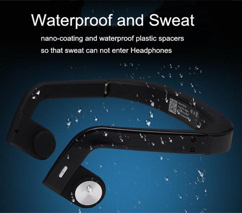bilder für Neueste zs01 wasserdichte bone leitung sport drahtlose bluetooth fashion sport kopfhörer studio musik headset mit mikrofon