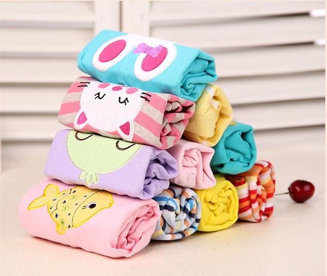 Casual Elastic Waist Cotton Pants for Babies 4