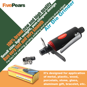 Image 5 - Air grinder Mini Air Angle Die Grinder Kit Pneumatic Tools Air Grinding Set 25000 RPM air tools pneumatic grinder FREE SHIPPING
