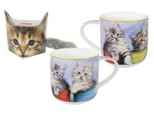 Кружка Carmani, Sweety Kitty, Котята в кружках, 500 мл, с брелком