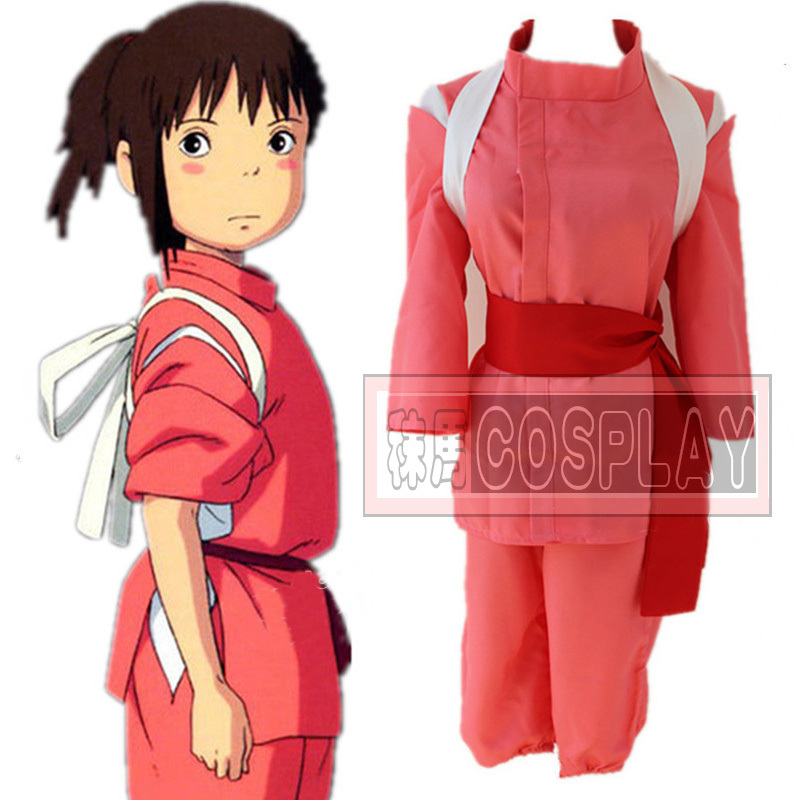 Free Shipping Chihiro Spirited Away Cosplay Costume Tailor made