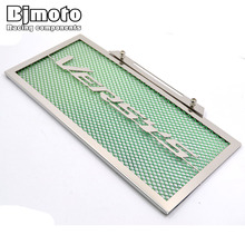 Motorcycle Engine Radiator Grille Guard Cover Protector Fuel Tank Cover Protector Green For Kawasaki VERSYS 650 2015 2016