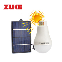 ZuKe 1w Solar Led Bulb Lamp Portable Energy Lampara Home Outdoor Nightlights Camping Lighting as Grden Lamps for Plants