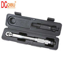 1/4'' Multi-use Drive Torque Wrench 5-25NM Adjustable Hand Spanner Ratchet Repair Tools Torque Wrench Repairing Hand Tools