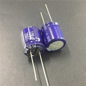 Image 1 - 5 uds 120uF 200V Serie Y 18x20mm de alta calidad Original 200V120uF condensador electrolítico de aluminio