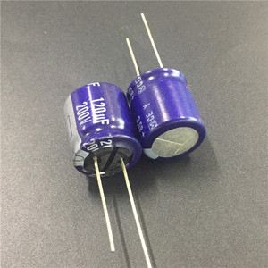 Image 1 - 5pcs 120uF 200V Y Series 18x20mm Original High quality 200V120uF Aluminum Electrolytic capacitor