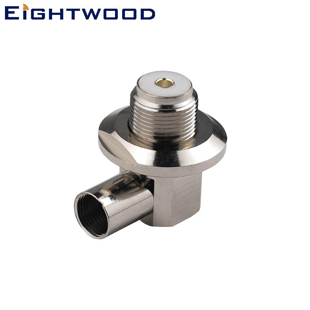 "PL259 UHF to 3.5mm mono 1//8/"" TS plug CCTV Camera Monitor antenna 1M RG58 Cable"