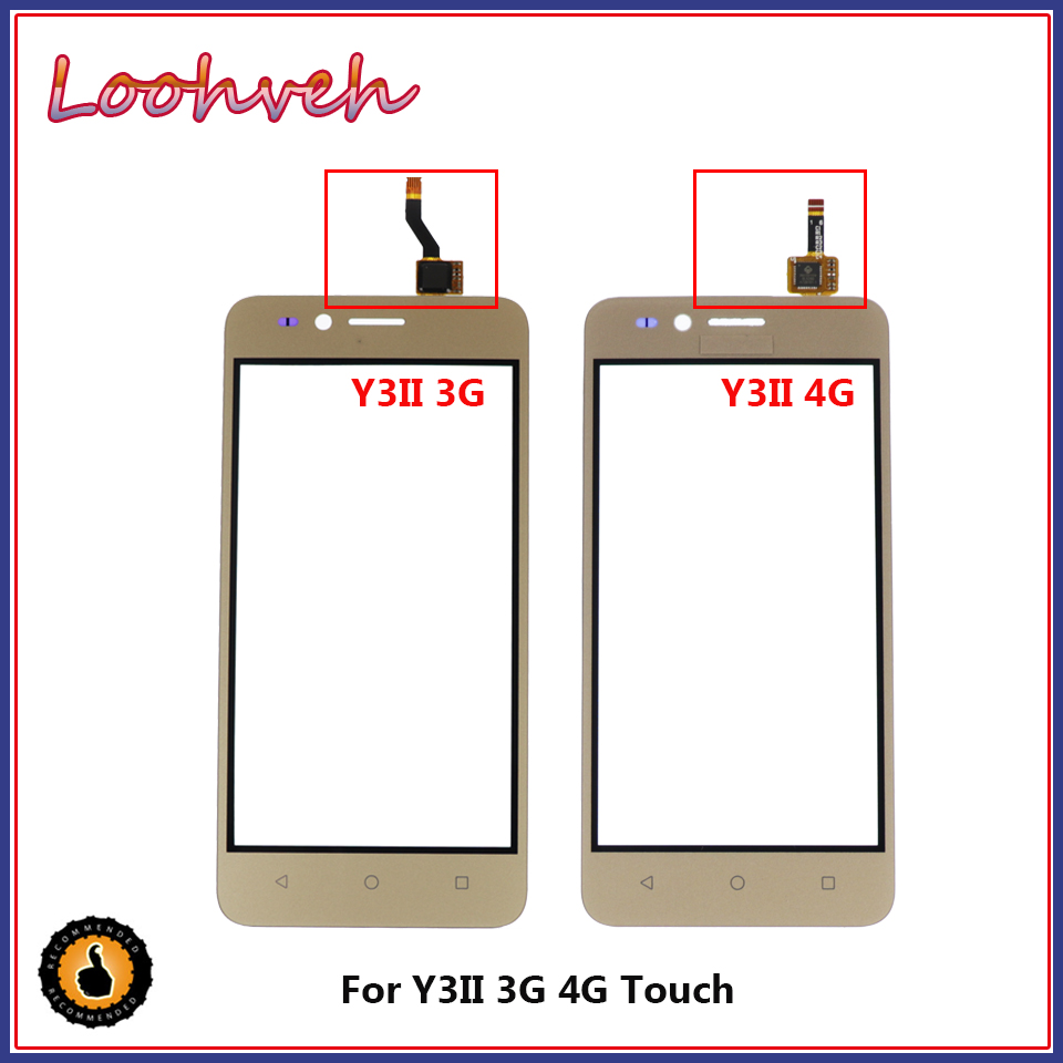 Honesty Touchscreen Sensor 4.5'' For Huawei U22 Y3ii Y3 Ii Y3 2 Lua-u03 Lua-l03 Lua-u23 Lua-l13 Lua-l21 Touch Screen Glass Panel To Be Renowned Both At Home And Abroad For Exquisite Workmanship, Skillful Knitting And Elegant Design