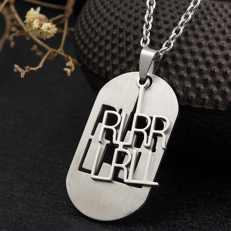 ᑎ‰WAWFROK мужской кулон ожерелье Sway левый и правый ...