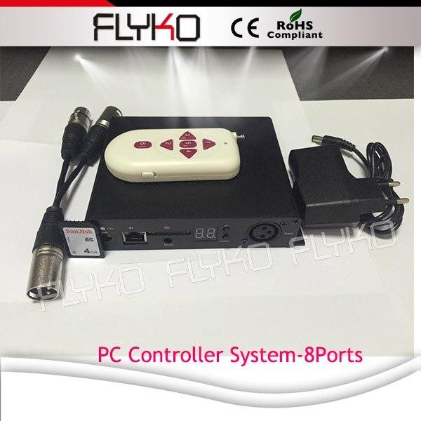 P10 2X9 м видео эффект украшения светодиодный экран - Цвет: PC controller