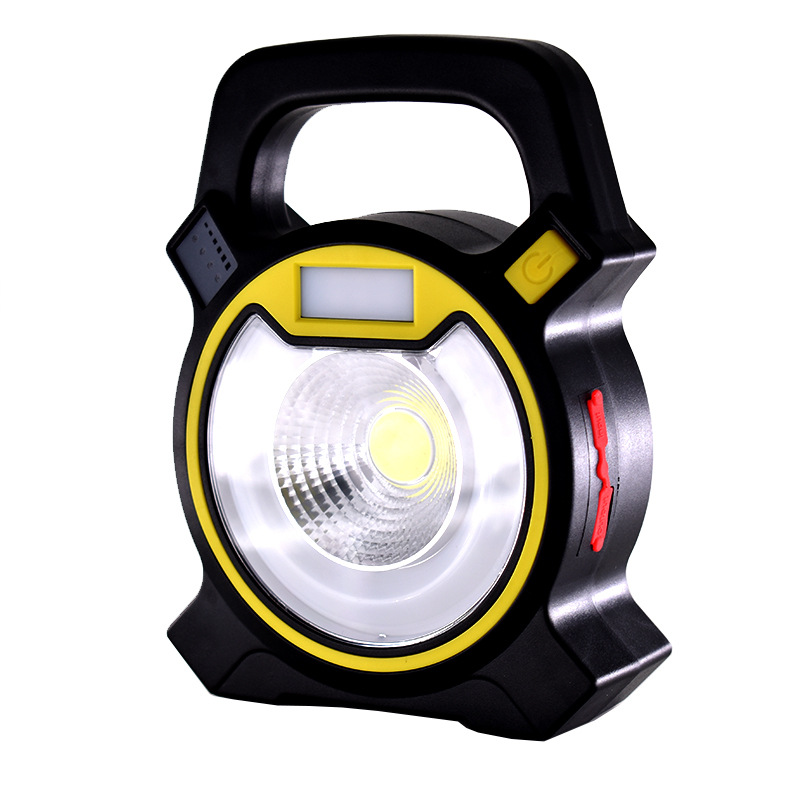 USB charging light COB portable camping lamp LED emergency energy-saving lamp portable emergency lawn lamp for Camping Hiking