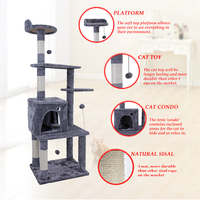 Domestic Delivery Cat Furniture Cat Tree Cat Climbing Frame Pet Tree House Pet Supplies Kitten Toys Multi Functional Cat Condos