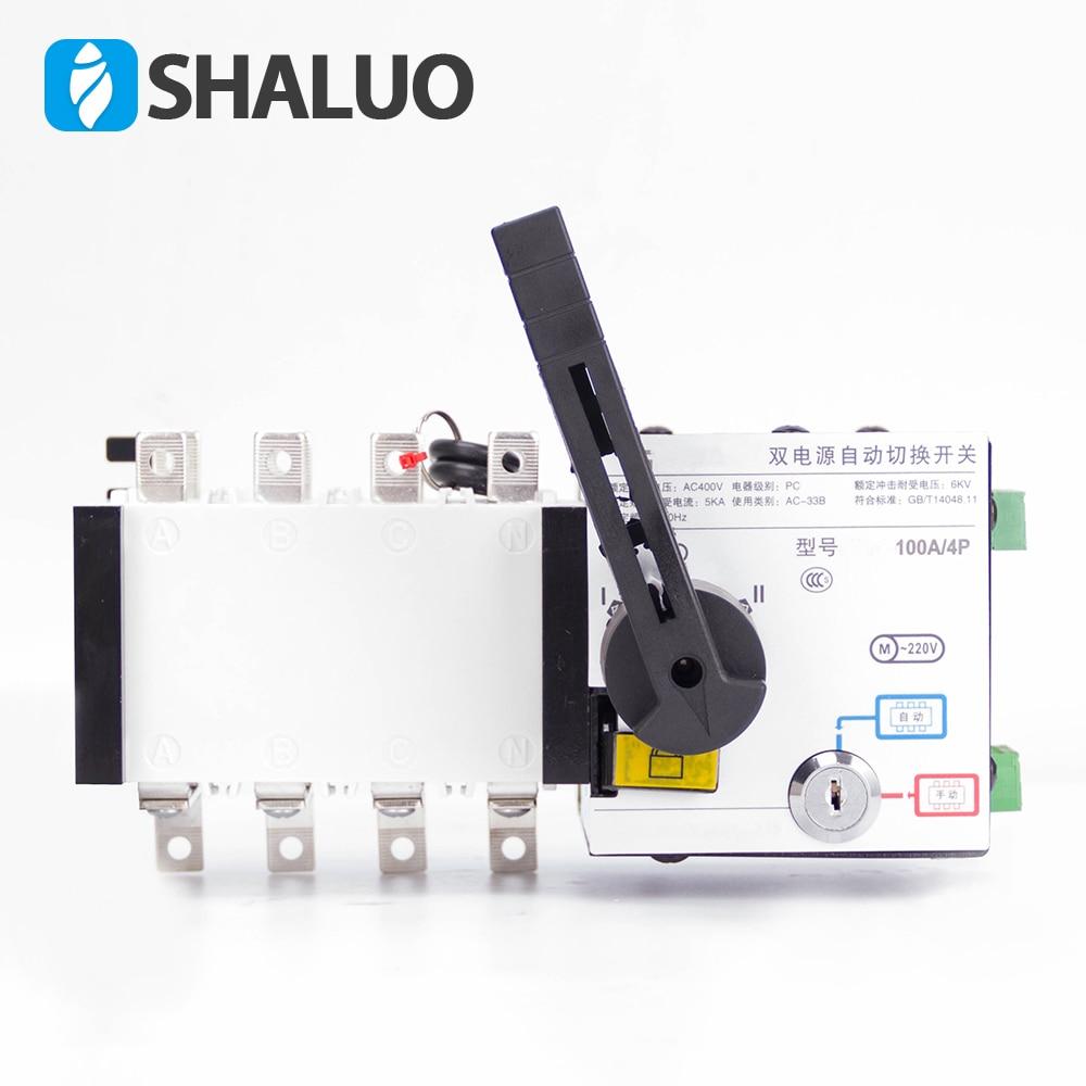 Здесь продается   4P 100A 400V Dual Power Transfer Switch  Universal switch ATS   Электротехническое оборудование и материалы
