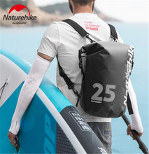 Naturehike Swimming Bag Ocean Pack PVC Dry Wet Separation Outdoor Kayaking Storage Waterproof Rafting Drifting 10L 15L 25L