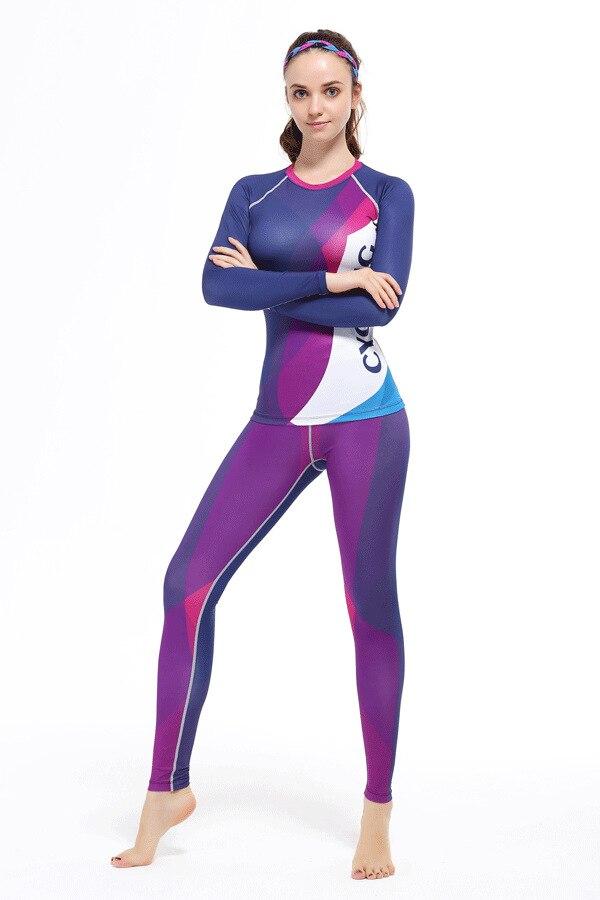 4377013285b Conjunto de ropa deportiva para mujer conjunto de ropa deportiva de manga  larga para mujer conjunto de ropa de ciclismo de sublimación en Conjuntos  de ...