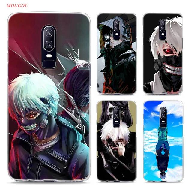 sports shoes e3d8e 36b86 US $2.43 23% OFF|Transparent Hard Case For Oneplus 6 Anime Tokyo Ghouls  Printing Drawing Hard Phone Cases Cover For Oneplus 6-in Half-wrapped Case  ...