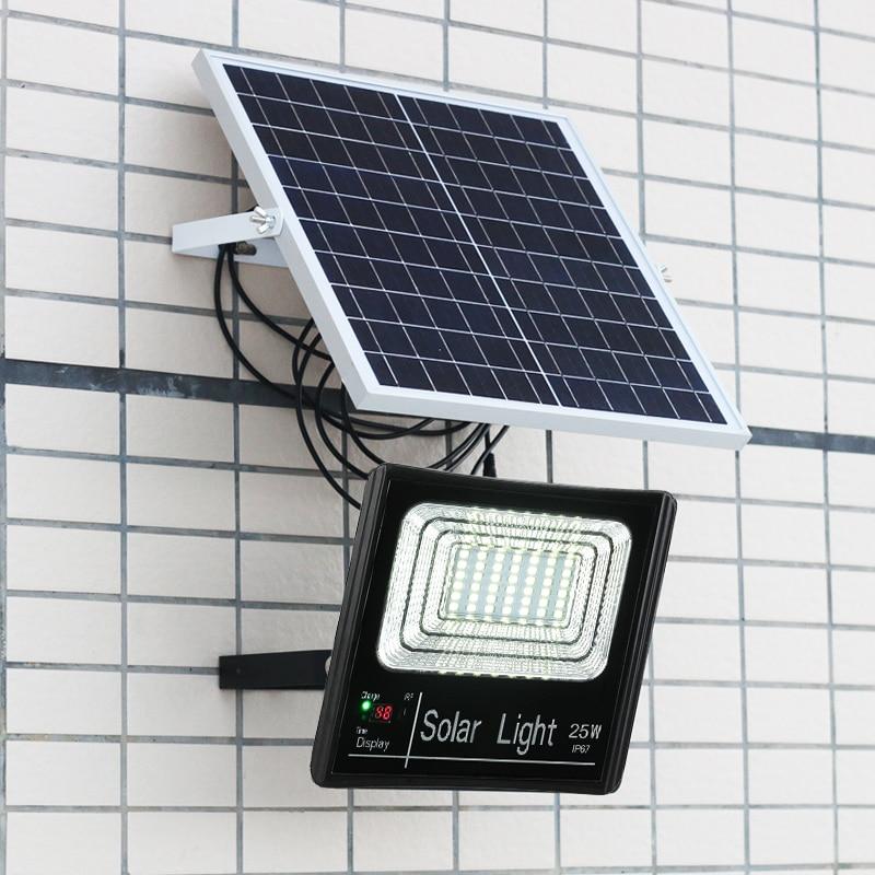 Free Shipping 200W IP67 LED Solar Light Lighting Sensor Lighting Outdoor Garden Solar Flood Lamp Waterproof Street Security Lamp