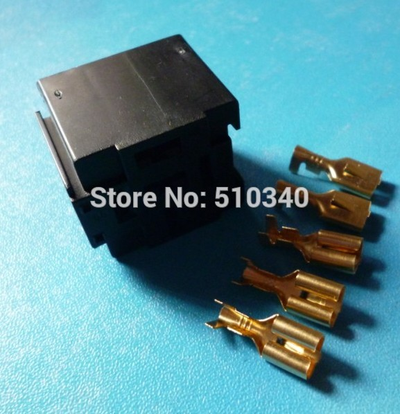 12V 80a/40 A Amp 5 Pin 5P Automotive Harness Car Auto Relay ...