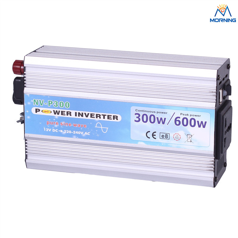 P300 300W Off Grid DC To AC Pure Sine Wave car power inverter 5V USB port p300 300w off grid dc to ac pure sine wave car power inverter 5v usb port