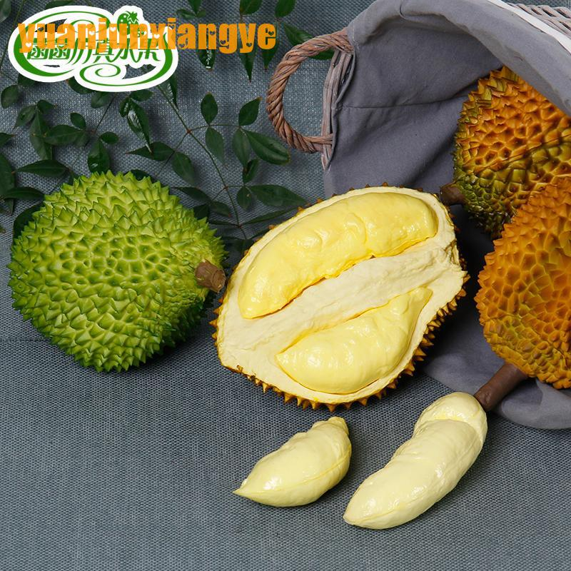 Festive Party Supplies Artificial Decorations Simulation big Durian Model Photography Props Fruits