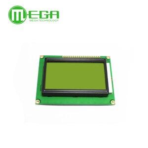 Image 4 - 새로운 10PCS 12864 128x64 도트 그래픽 녹색 컬러 백라이트 LCD 디스플레이 모듈 arduino 나무 딸기 파이