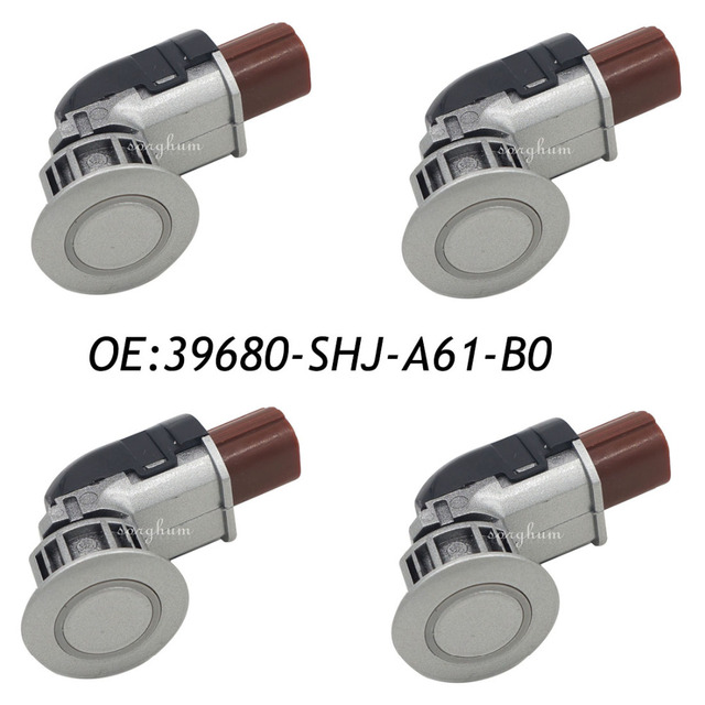 4PCS 39680-SHJ-A61 39680-SHJ-A61-B0 Parking Sensor PDC For Honda CR-V/Honda Odyssey