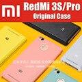 3 + 32 gb redmi 3 s flip caso cubierta de cuero 100% de la marca original con caja al por menor para el caso de xiaomi redmi3 pro prime