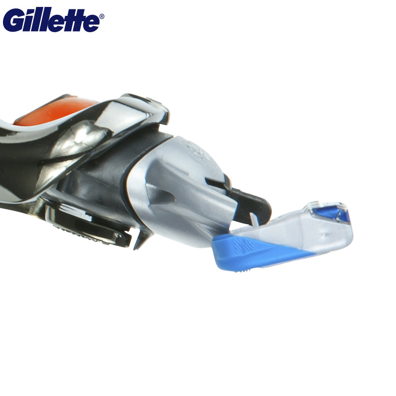 Image 5 - Electric Shaver Gillette Fusion Powered Razors Men Electric Razor 1 holder With 1 Blades Genuine Safety Razors Fusion Proglide-in Electric Shavers from Home Appliances