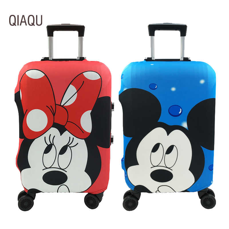 Fashion  Travel Suitcase Protective Cover Elastic Case Covers For 19-32 Inch Baggage Dust Protective Cover Travel