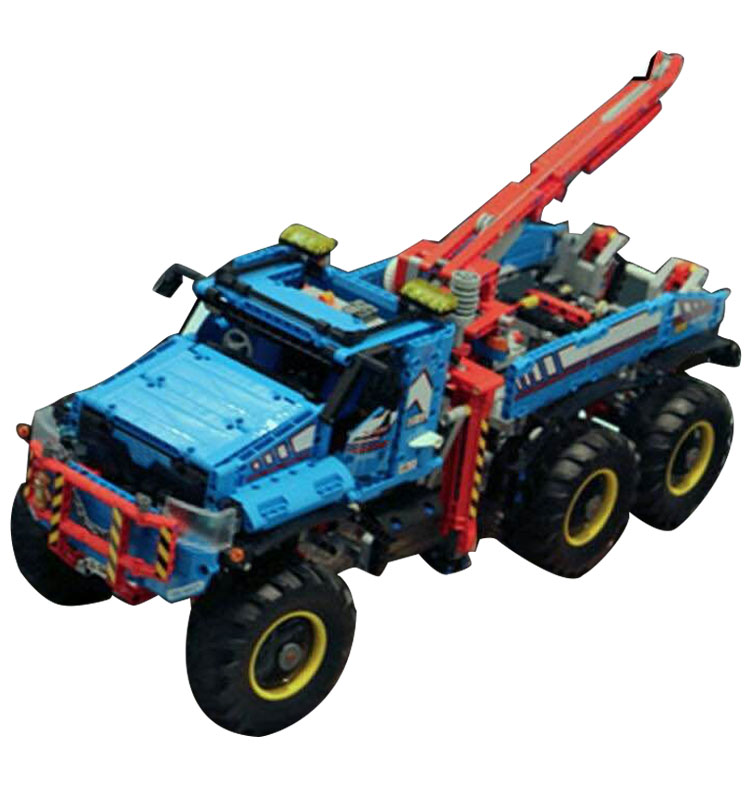 Lepin 20056 Technic Series The Ultimate All Terrain 6X6 Remote Control Truck Set Building Blocks Bricks Toy Model 42070 1912pcs 20030 technic ultimate series the off roader set children building blocks brick toy model gifts competible with legoingly 8297